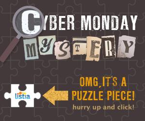 Cyber Monday Mystery on Listia